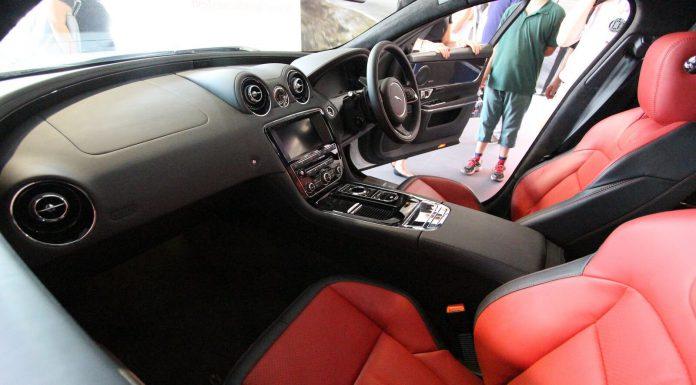 Jaguar XJR Interior at Goodwood 2013