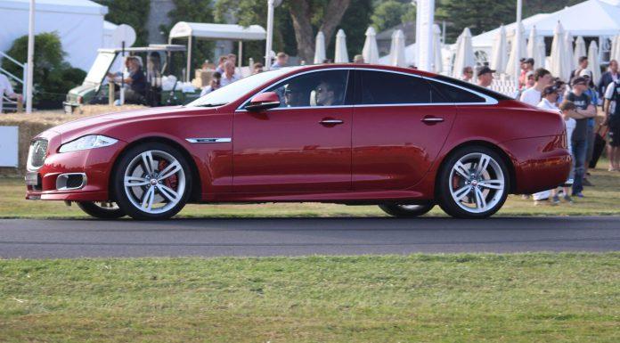 Jaguar XJR at Goodwood 2013
