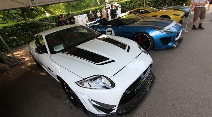 Jaguar XKRS GT at Goodwood 2013
