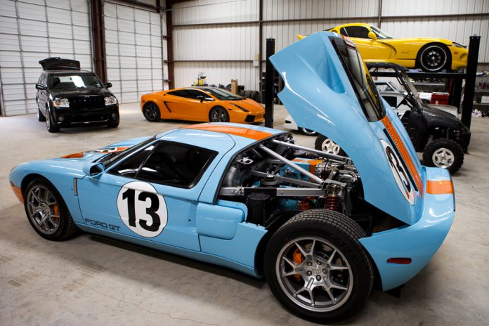 Gallery: Epic Garage of American Muscle and European Speed in the U.S.