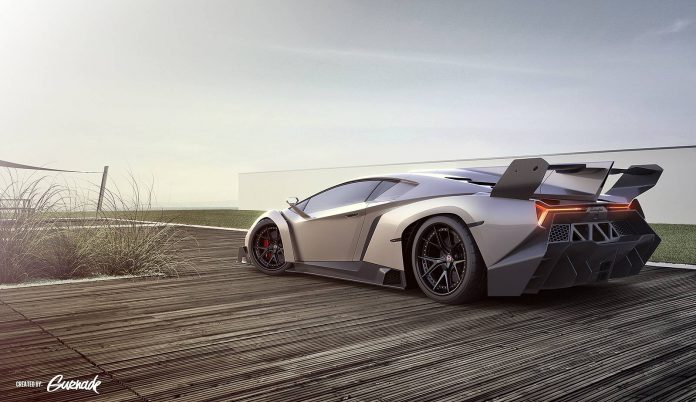 Render: Lamborghini Veneno on HRE Wheels by Gurnade