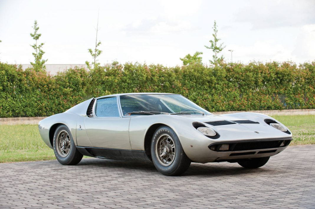1969 Lamborghini Miura P400S Headed to RM Auctions