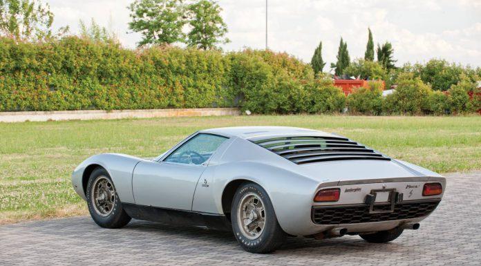 1969 Lamborghini Miura P400S Headed to RM Auctions