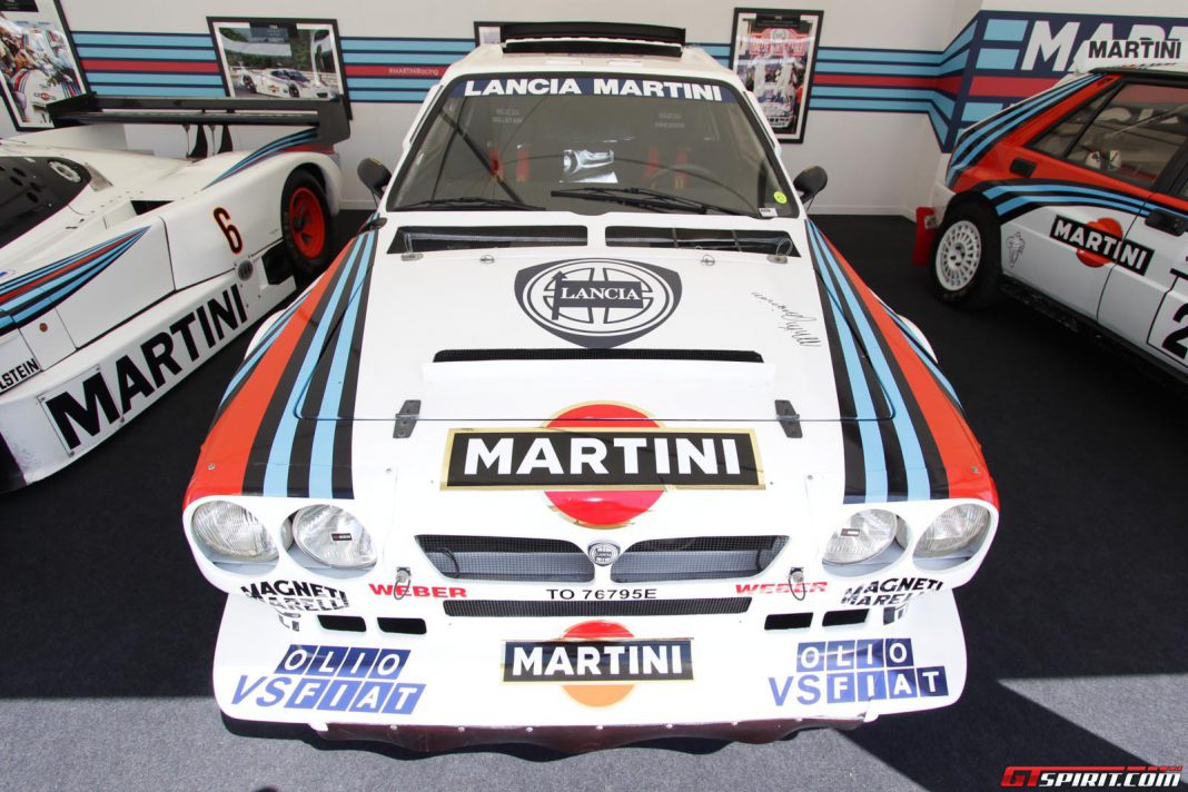 Martini Racing at Goodwood Festival of Speed 2013