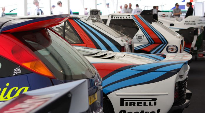 Martini Racing at Goodwood Festival of Speed 2013 Rears