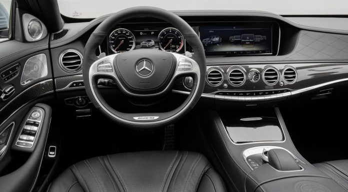 Mercedes Benz S 63 AMG Interior