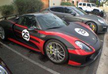 The Porsche 918 Spyder, Porsches