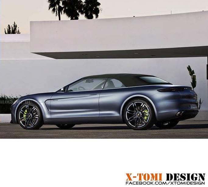 X-Tomi Design: Porsche Panamera Sport Cabriolet Concept