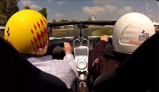 Video: Driving the Koenigsegg Agera R at Goodwood 2013