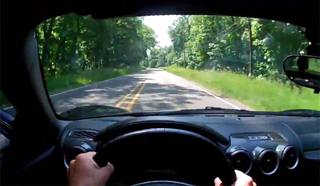 Video: POV Drive in Ferrari F430 by Winding Road