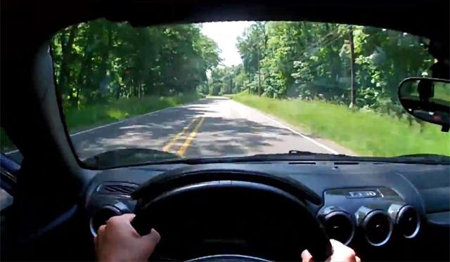 Video: POV Drive in Ferrari F430 by Winding Road