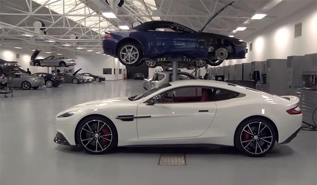 Video Drive Goes Inside Aston Martin Works Gtspirit