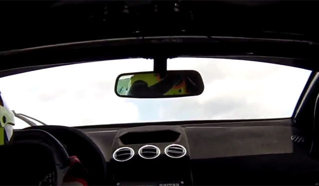 Video: Lamborghini Gallardo GT3 Soars for the Stars