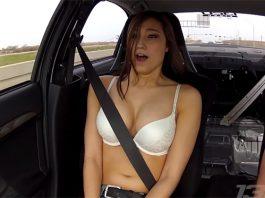 Video: Babe Rides in 900hp Mitsubishi Lancer Evolution