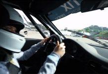Video: Girl Drifts Porsche 911 GT3