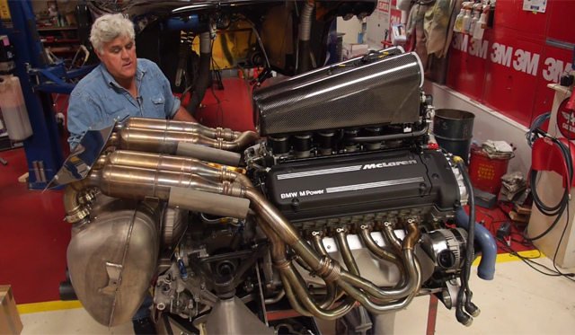 Video: Look at the McLaren F1's Engine With Jay Leno