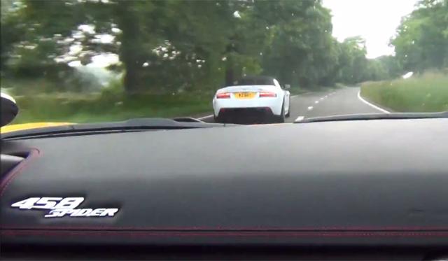 Video: Epic Ride in Ferrari 458 Italia by Supercar Driver