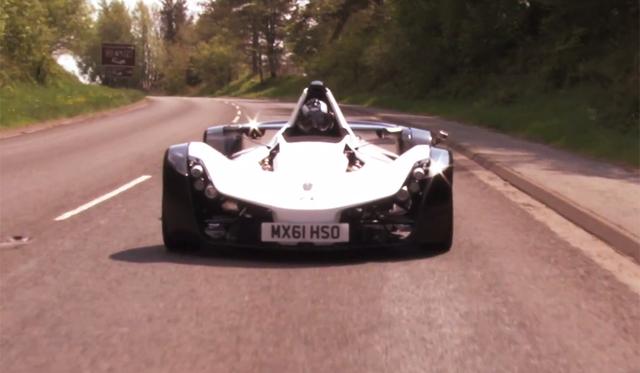 Video: XCAR Drives BAC Mono