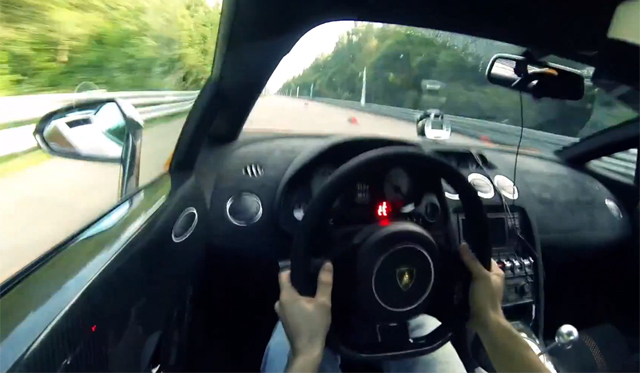 Video: In-car Footage 2005hp Lamborghini Gallardo TT Hitting 265mph