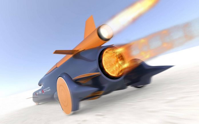Video: Bloodhound SSC's Wheels Tested at 1,100mph!