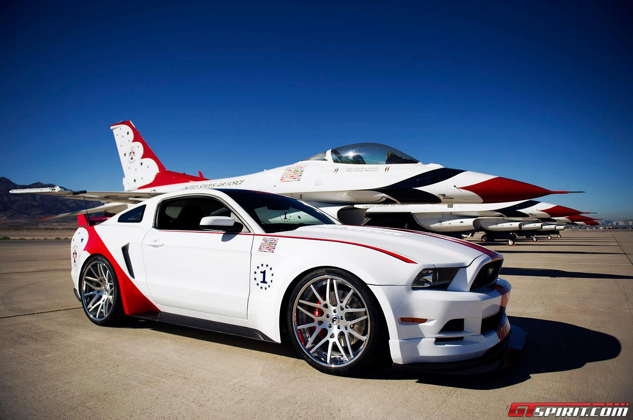 Official 2014 ford mustang gt u s air force thunderbirds edition