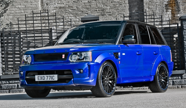 Official: Range Rover Sport RS300 Cosworth by Kahn Design