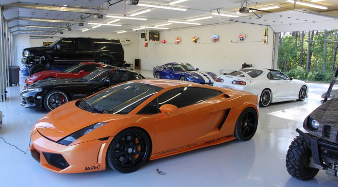 Gallery:  Supercar Collection of Top Gun Customz Founder