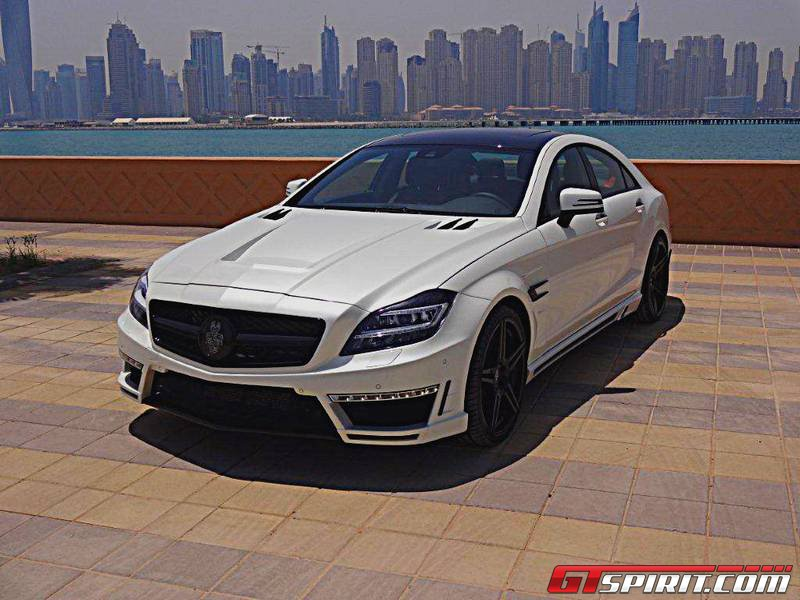Mercedes-Benz CLS500 GSC by Spectrum Car Design - GTspirit