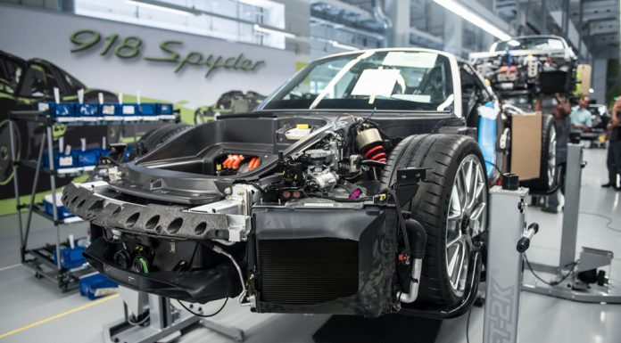 Inside Production of the Porsche 918 Spyder by GF Williams