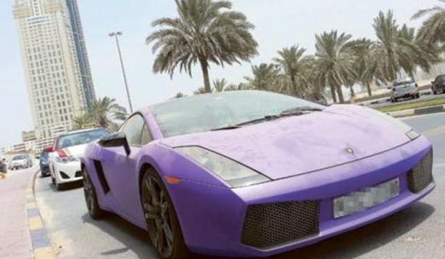 Pro Footballer Abandoned his Lamborghini Gallardo in Sharjah