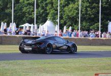 Video: Jenson Button Drives McLaren P1 at Goodwood