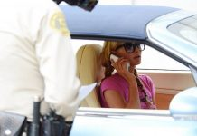 Paris Hilton Caught Speeding in Bentley Continental GTC