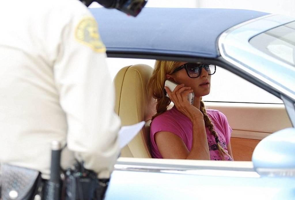 Paris Hilton Caught Speeding in Bentley Continental GTC
