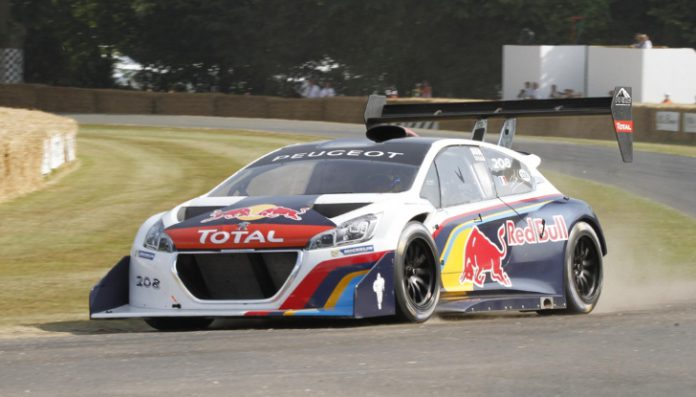 Peugeot 208 T16 Pikes Peak Claims Fastest Time at Goodwood Festival of Speed 2013