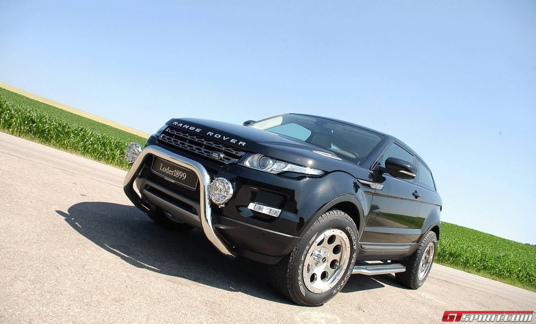 official loder1899 range rover evoque off road gtspirit. Black Bedroom Furniture Sets. Home Design Ideas