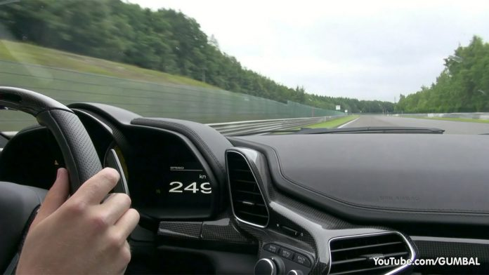 Video: High Speed Ride in Ferrari 458 Italia at Spa