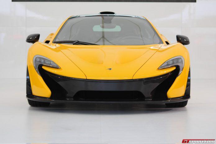 McLaren P1 at Goodwood Festival of Speed 2013