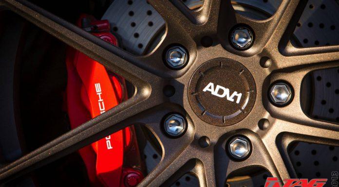 Porsche 991 911 on Bronze ADV.1 Wheels by TAG Motorsports