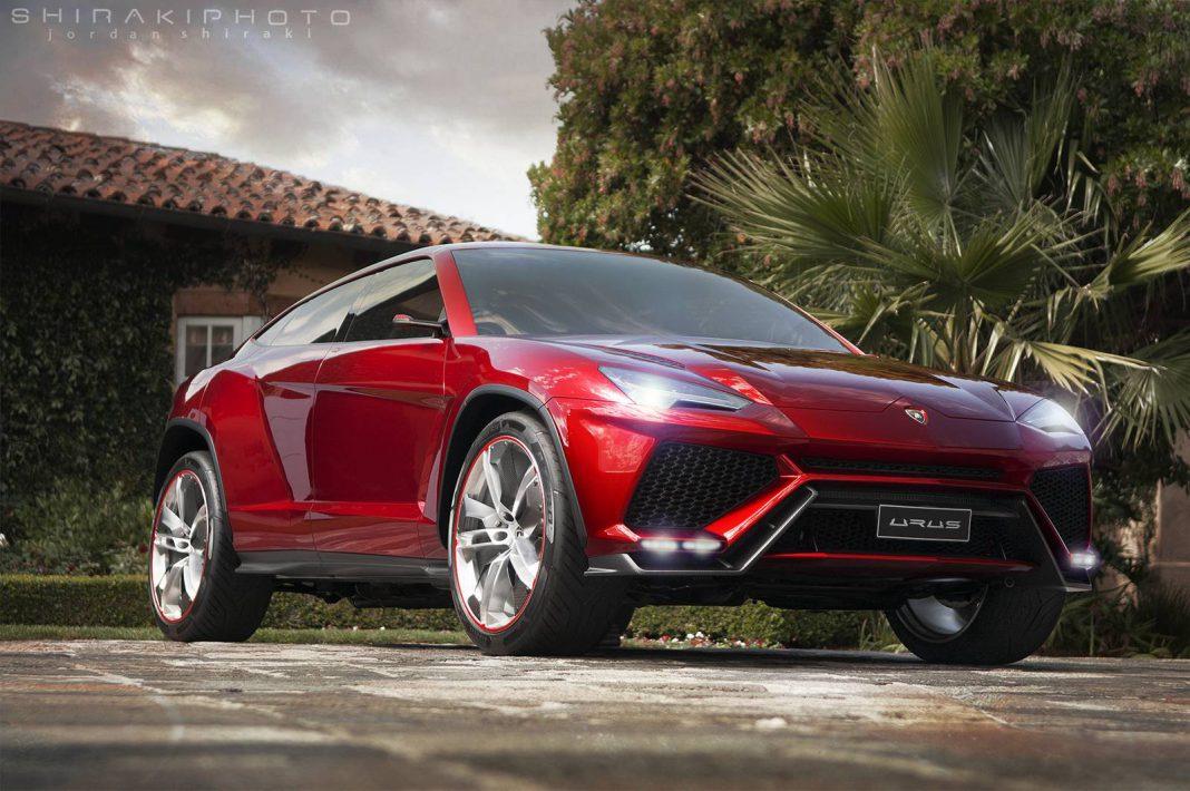Gallery: 2017 Lamborghini Urus by Jordan Shiraki