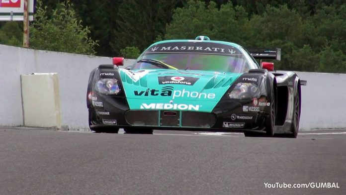 Video: 10 Incredible Minutes of the Maserati MC12 Corsa on Track