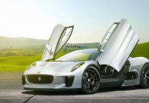 Render: Jaguar C-X75 on HRE Wheels