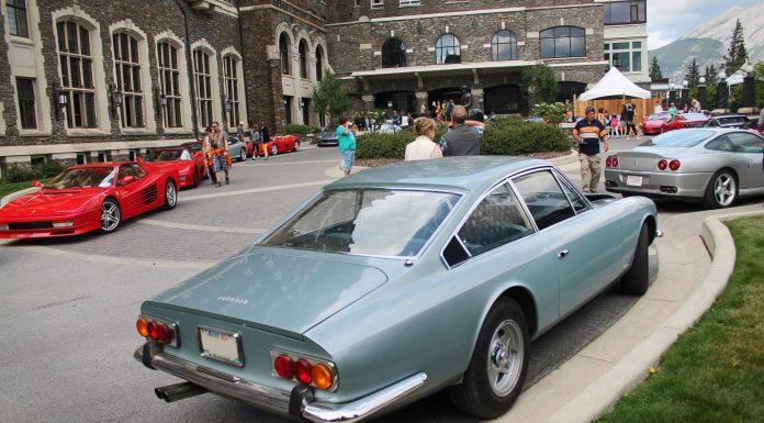 Ferrari Lineup at the Banff Springs Hotel