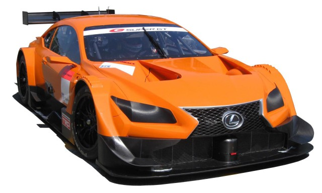 Lexus LF-CC Concept Heading to 2014 Super GT500 Series