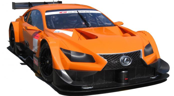 Lexus LF-CC Concept Heading to 2014 Super GT500 Series