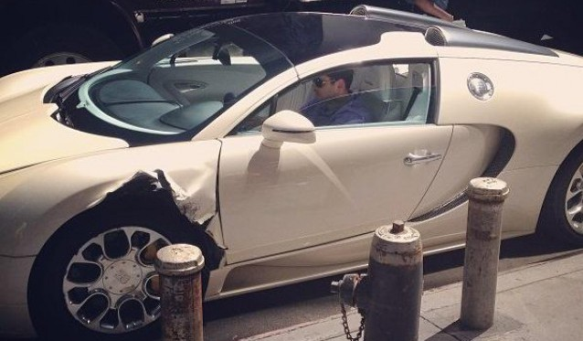 Bugatti Veyron Crash New York City