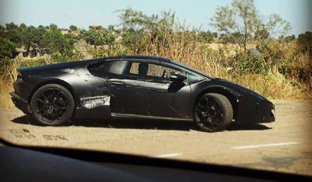 2015 Lamborghini Cabrera Spotted Testing