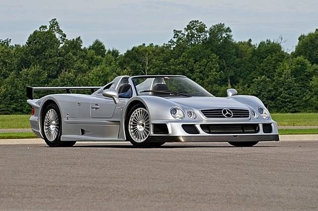 2002 mercedes benz clk gtr roadster to be auctioned at for Mercedes benz monterey