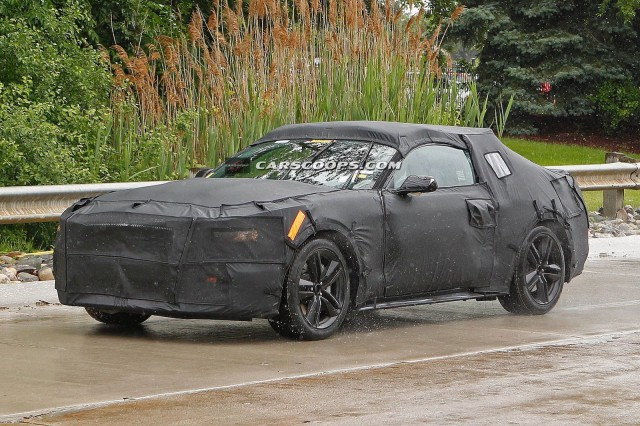 2015 Ford Mustang to Drop 400 Pounds