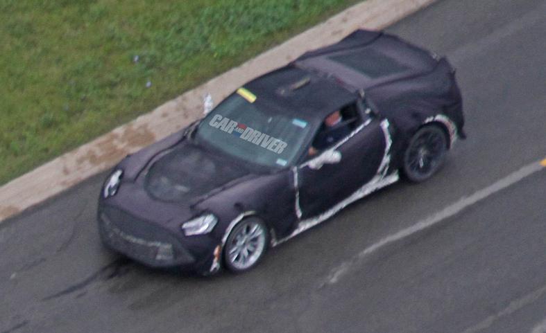 Spyshots: 2016 Chevrolet Corvette Stingray Z07 Could Have 600hp