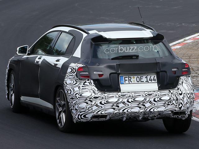 Spyshots: 2014 Mercedes-Benz GLA45 AMG at the 'Ring